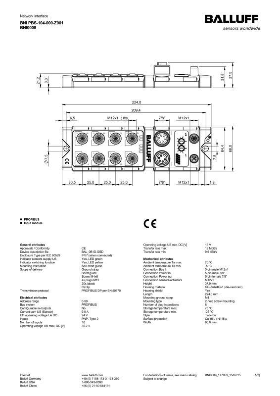 Network interface BNI0009-Balluff Inc. on danfoss wiring diagram, bendix wiring diagram, dayton wiring diagram, bourns wiring diagram, amphenol wiring diagram, atlas copco wiring diagram, square d wiring diagram, smc wiring diagram, siemens wiring diagram, enerpac wiring diagram, panasonic wiring diagram, general electric wiring diagram, fisher wiring diagram, mitsubishi wiring diagram, toshiba wiring diagram, emerson wiring diagram, bosch wiring diagram, alpha wiring diagram, durant wiring diagram, sony wiring diagram,