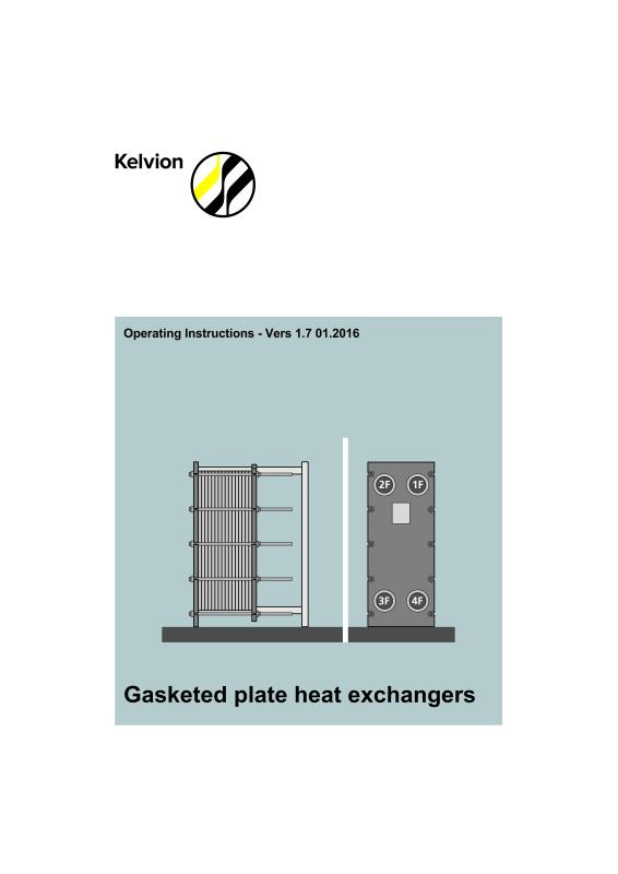 GASKETED PLATE HEAT EXCHANGERS NA SERIES-Kelvion