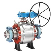 Virgo Metal Seated Trunnion-Mounted Ball Valve-Emerson Process