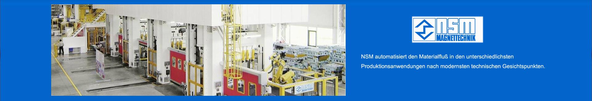 Belt conveyor hopper / feed bin-NSM MAGNETTECHNIK GmbH