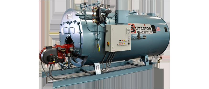Mohawk 3Pass Dryback Firetube BoilerSUPERIOR BOILER WORKS INC