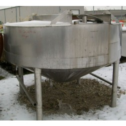 Chester Jensen 400 gallon stainless steel insulated mix and
