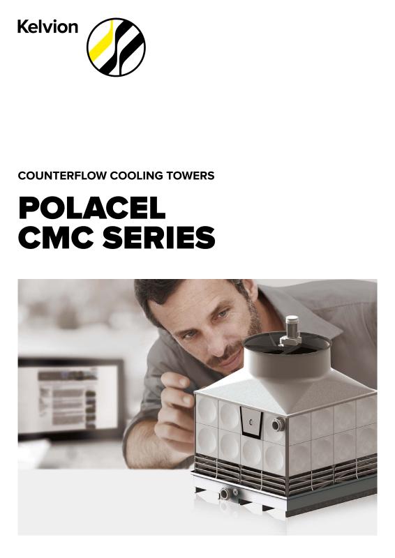 Counter-Flow Modular Cooling Tower POLACEL CMDR-Kelvion