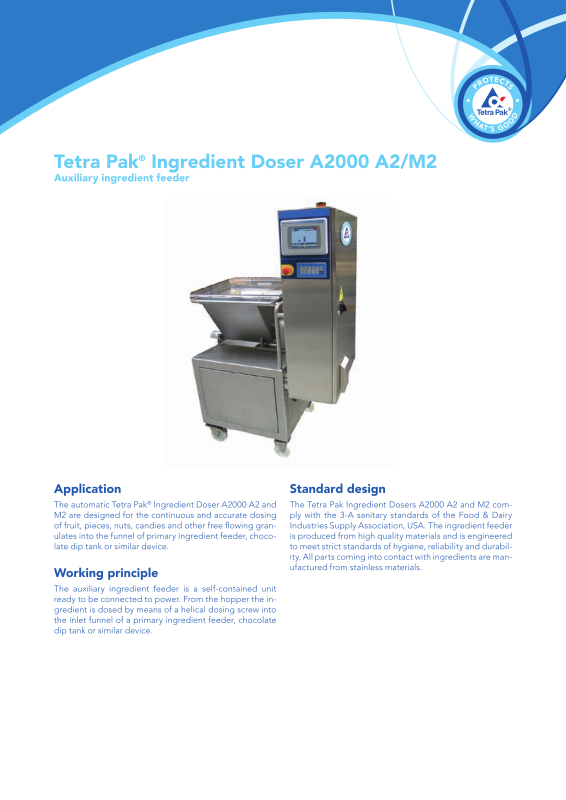 Tetra Pak processing and packaging solutions for food and beverages